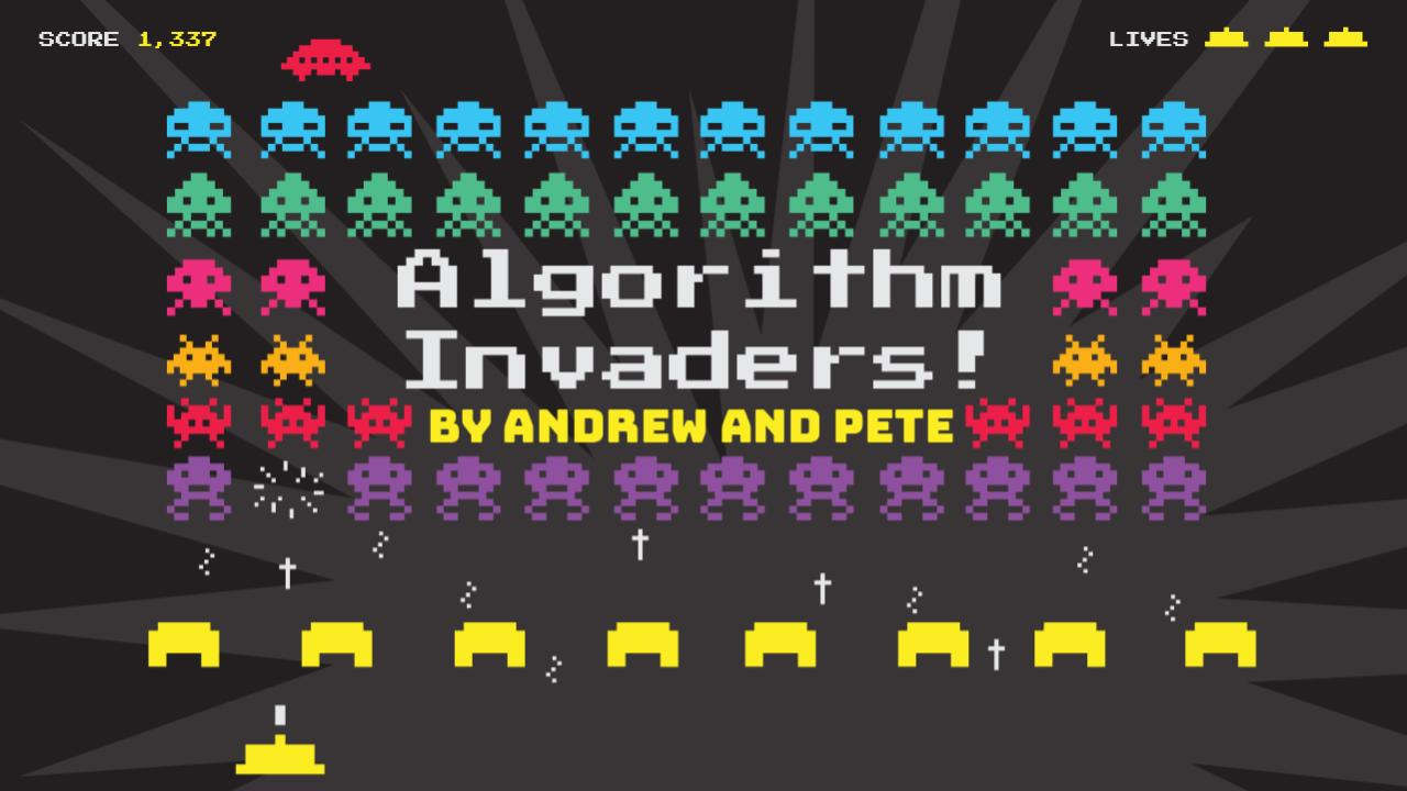 Algorithm Invaders