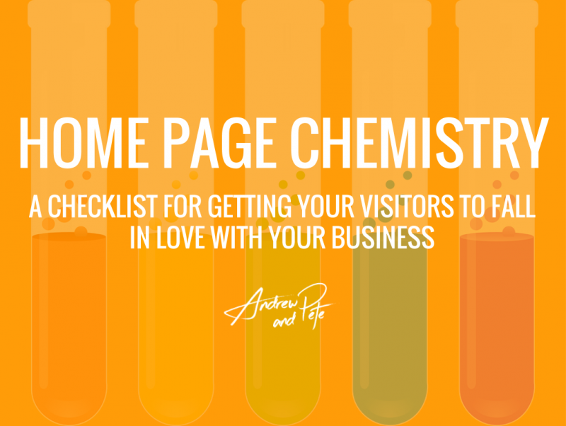 Home Page Chemistry by Andrew and Pete