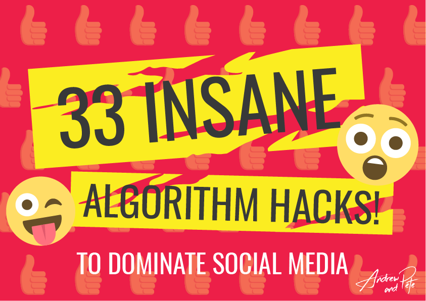 33 Insane Algorithm Hacks to Dominate Social Media COVER-01