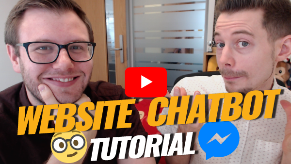 website chatbot tutorial
