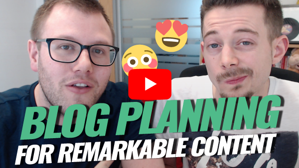 Blog Planning