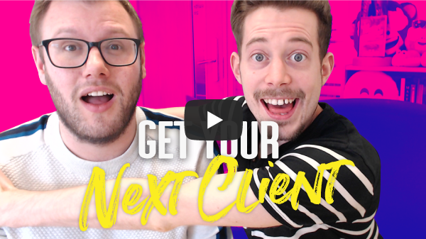 how to get your next client
