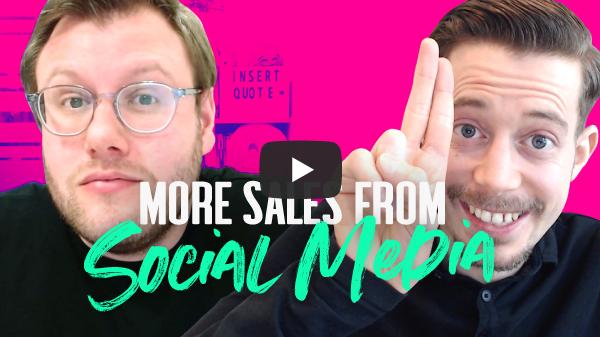 sales on social media