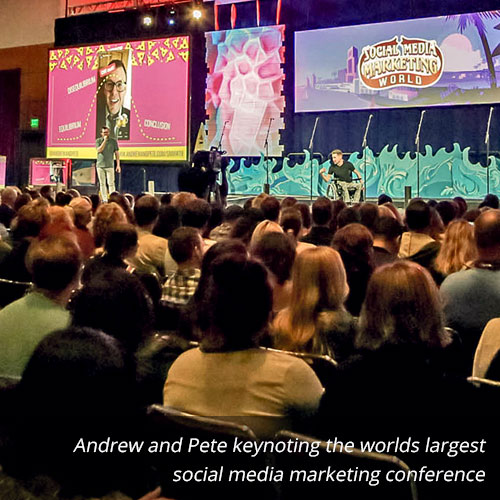 keynoting-social-media-marketing-world---andrew-and-pete